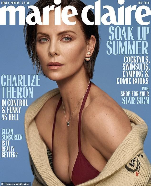 Charlize Theron lần đầu lên tiếng về tin đồn hẹn hò với Brad Pitt và thù ghét Angelina Jolie - Ảnh 1.