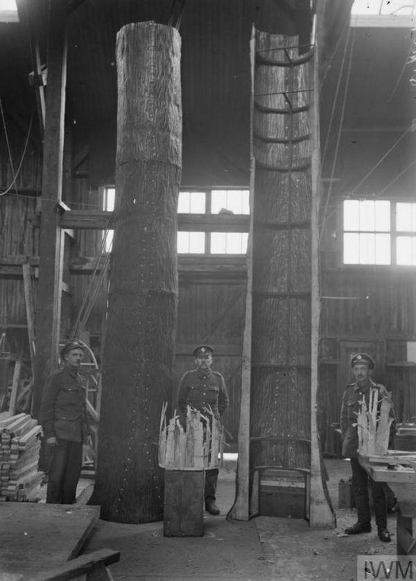 Đây là phương pháp ngụy trang độc đáo cho chòi canh trong Thế chiến thứ Nhất - Ảnh 3.