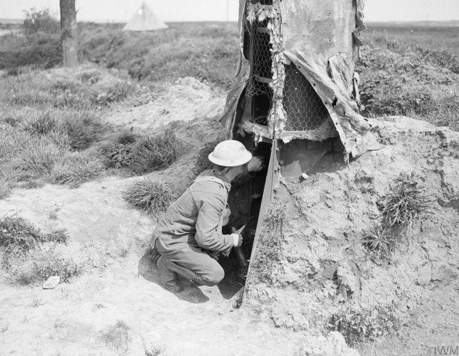 Đây là phương pháp ngụy trang độc đáo cho chòi canh trong Thế chiến thứ Nhất - Ảnh 7.