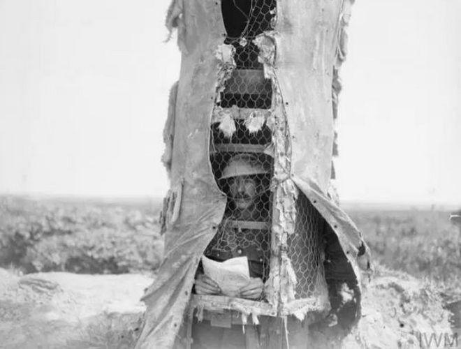 Đây là phương pháp ngụy trang độc đáo cho chòi canh trong Thế chiến thứ Nhất - Ảnh 8.
