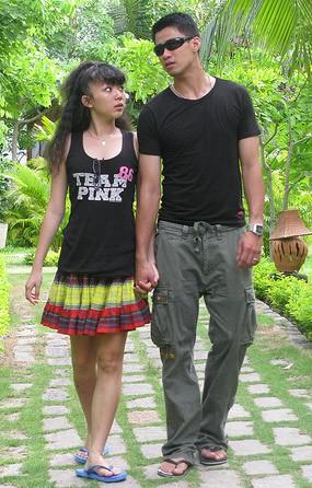 Tóc Tiên và chuyện tình thời thanh xuân với cầu thủ bóng rổ đẹp trai, cao 1m84 ít người biết - Ảnh 1.