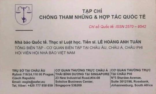 Hội Luật gia Việt Nam nói về việc nhà báo quốc tế Lê Hoàng Anh Tuấn dùng xe biển xanh - Ảnh 1.