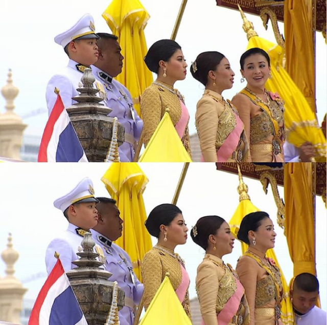 Tân Hoàng hậu Thái Lan bất ngờ gây thiện cảm với dân chúng nhờ một loạt khoảnh khắc đặc biệt chưa từng thấy trong lễ đăng quang của Quốc vương - Ảnh 4.
