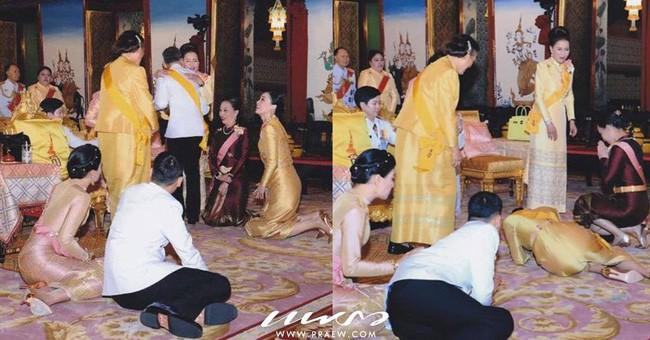 Tân Hoàng hậu Thái Lan bất ngờ gây thiện cảm với dân chúng nhờ một loạt khoảnh khắc đặc biệt chưa từng thấy trong lễ đăng quang của Quốc vương - Ảnh 5.
