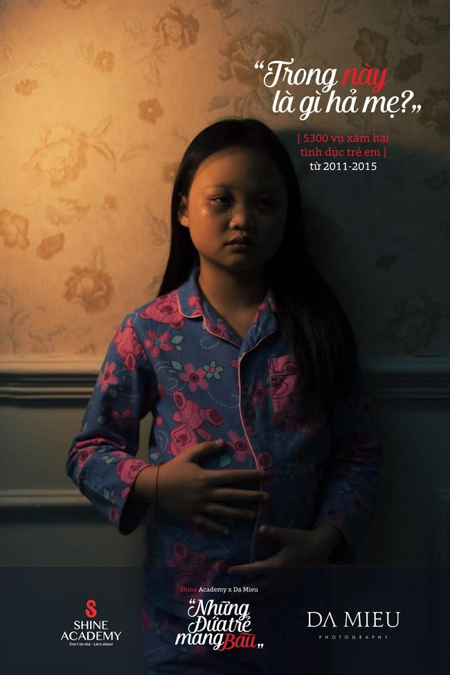 Những đứa trẻ mang bầu - bộ ảnh kèm con số giật mình về nạn ấu dâm khiến ai cũng ám ảnh - Ảnh 7.