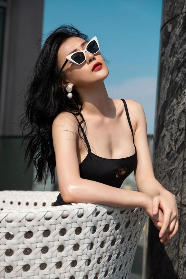 Mặc bikini bị dạy dỗ thiếu lịch sự, Phương Oanh thẳng thắn đáp trả - Ảnh 3.