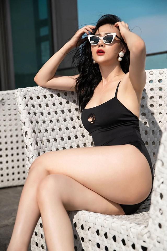 Mặc bikini bị dạy dỗ thiếu lịch sự, Phương Oanh thẳng thắn đáp trả - Ảnh 2.
