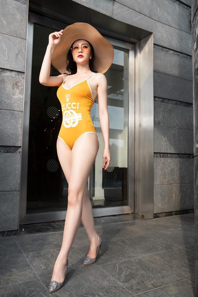 Mặc bikini bị dạy dỗ thiếu lịch sự, Phương Oanh thẳng thắn đáp trả - Ảnh 6.