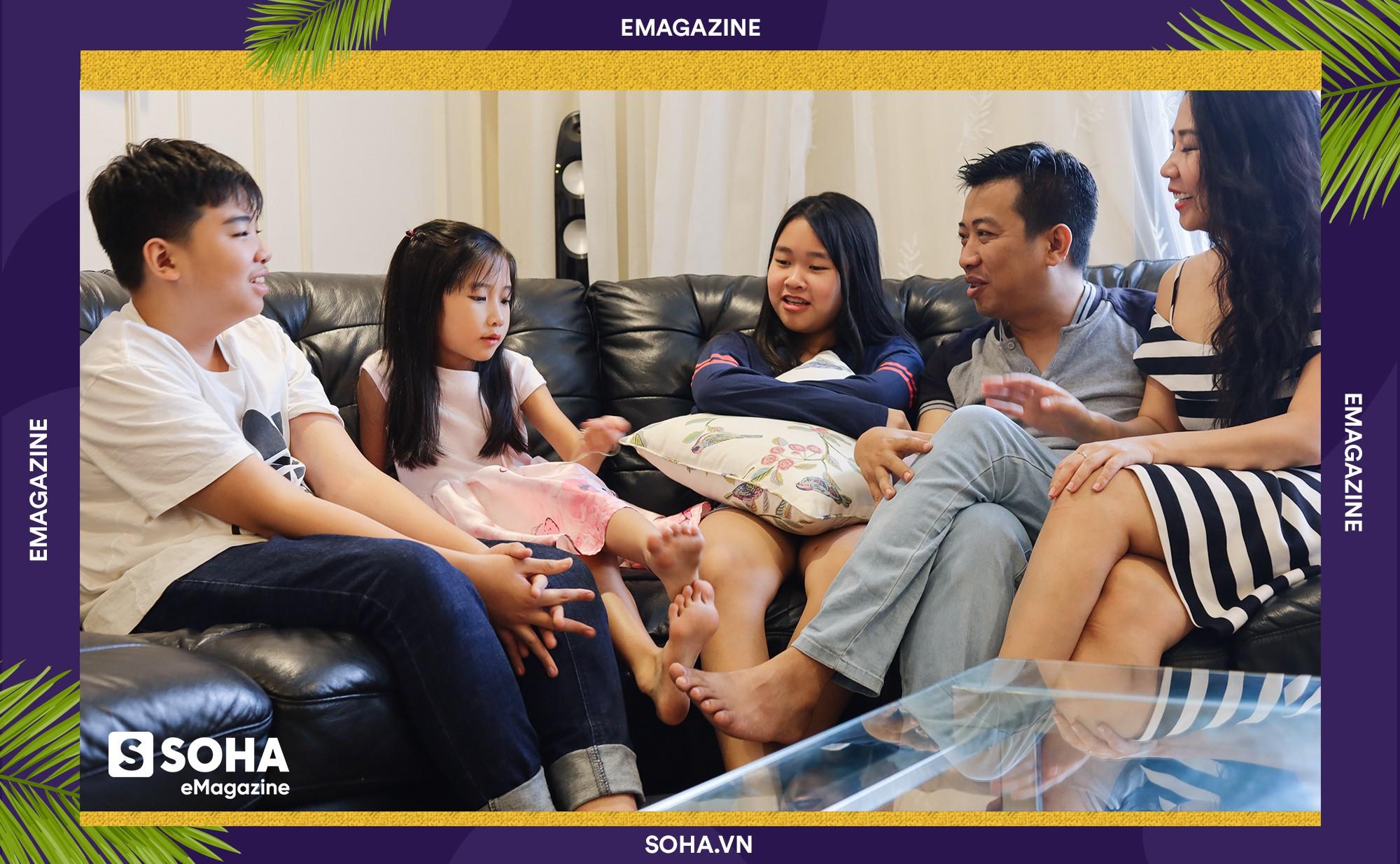Bí kíp dạy con của Chánh Văn: 'Đừng trở thành một ông bố tâm lý. Hãy cố gắng trở thành ông bố ngoài cuộc' - Ảnh 20.