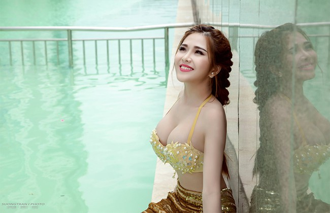 Ngoài Phi Huyền Trang, nhóm Mì gõ còn một hot girl vô cùng nóng bỏng - Ảnh 2.