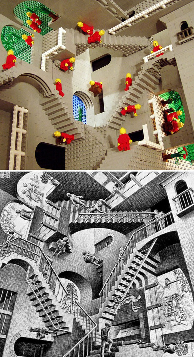 Kết quả bất ngờ khi LEGO hóa những tác phẩm nghệ thuật kinh điển - Ảnh 2.