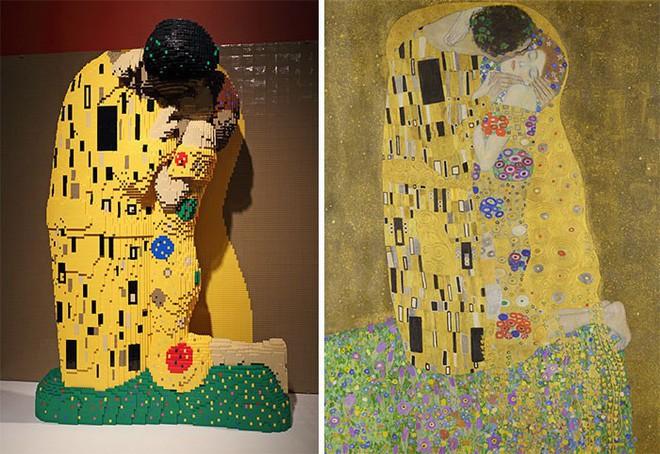 Kết quả bất ngờ khi LEGO hóa những tác phẩm nghệ thuật kinh điển - Ảnh 3.