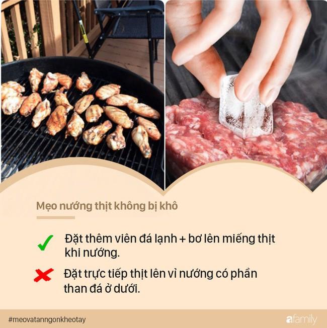 Khi nướng thịt BBQ, chỉ cần đặt viên đá lạnh lên và các mẹ sẽ thấy ngay điều kì diệu - Ảnh 5.