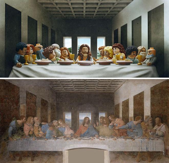 Kết quả bất ngờ khi LEGO hóa những tác phẩm nghệ thuật kinh điển - Ảnh 6.