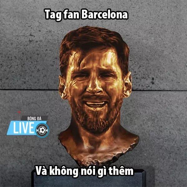 """""""thanos"""" messi - 5993054123058084095273563261484176150364160n 15572726205382019221530 - Ảnh chế: """"Iron Man"""" Klopp búng tay, """"Thanos"""" Messi tan biến vào cát bụi"""