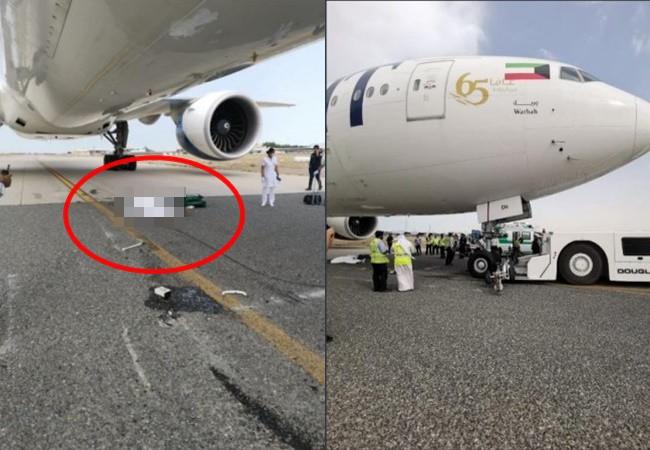 Tai nạn hàng không hy hữu: Nhân viên mặt đất bị máy bay Boeing 777 cán qua người và tử vong - Ảnh 1.
