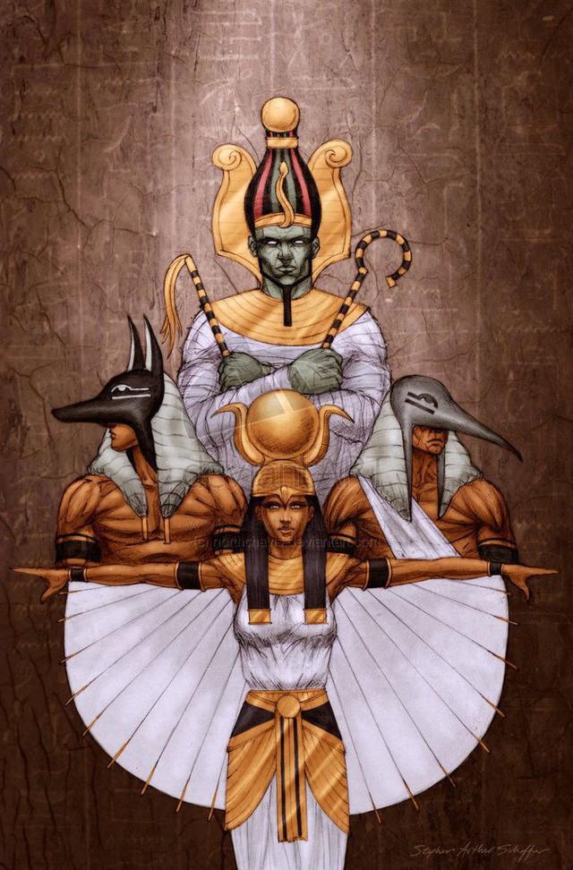 Bạn biết gì về Amduat - tử thư của hoàng đế Ai Cập Thutmose đệ Tam? - Ảnh 4.