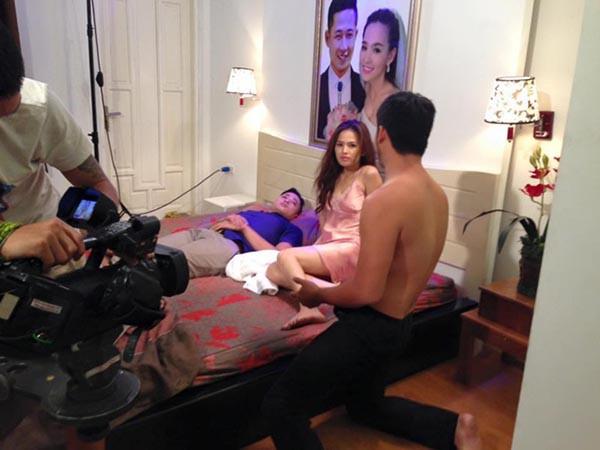 Tràn ngập cảnh nóng trong sự nghiệp phim ảnh của Phi Huyền Trang - Ảnh 7.