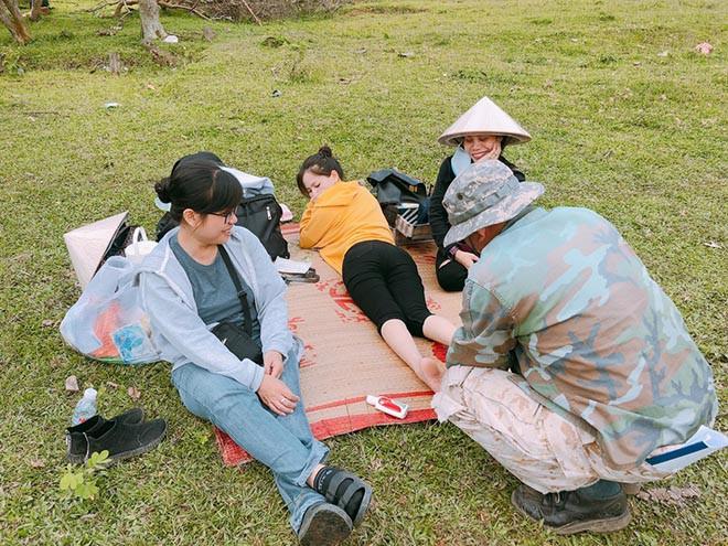 Những hình ảnh không được lên sóng giờ vàng của hot girl Phi Huyền Trang - Ảnh 10.