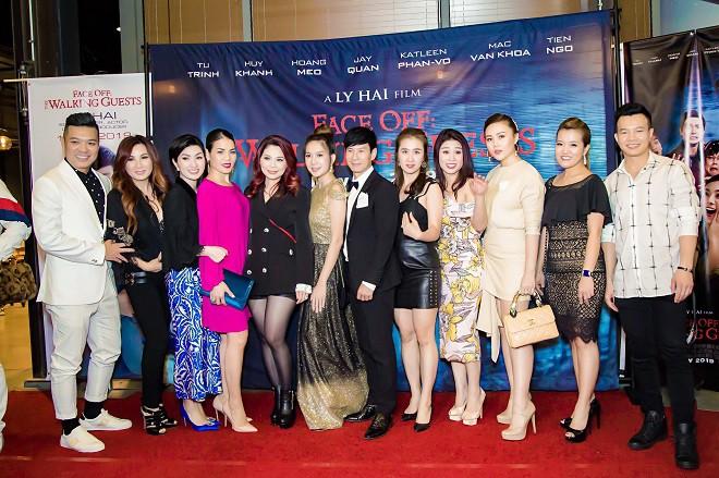 Dàn sao hải ngoại tham dự buổi công chiếu Lật Mặt 4 của Lý Hải tại Mỹ - Ảnh 1.