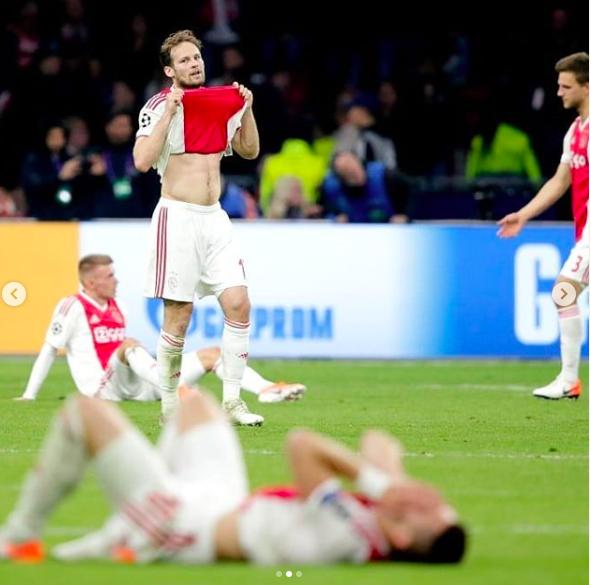 Những hình ảnh tràn ngập đau thương của Ajax Amsterdam sau khi bị đội bóng của Son Heung-min kết liễu ở giây bù giờ cuối cùng - Ảnh 18.