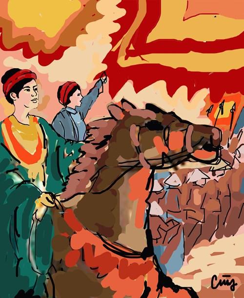 Truyền kỳ về cô gái vốn lo việc hậu cần nhưng Lê Lợi phong làm Thần y tướng quân - Ảnh 3.