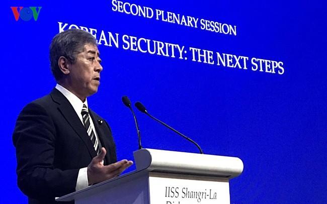 Shangri-la 18: Các bước đảm bảo an ninh trên bán đảo Triều Tiên - Ảnh 1.