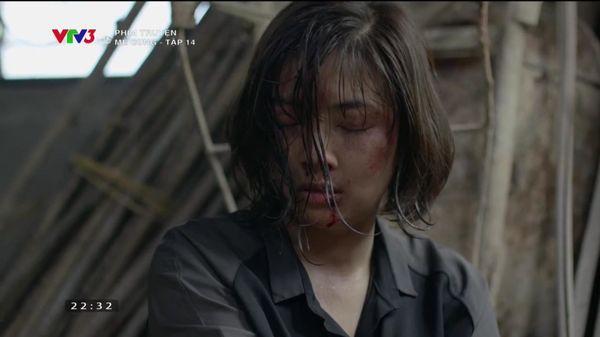 Nhan sắc nữ thiếu úy công an bị Việt Sói bắt cóc, đánh bầm dập trong phim Mê cung - Ảnh 5.