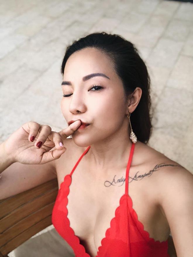 Vợ cũ Lâm Vinh Hải tung ảnh nóng, khoe cuộc sống hạnh phúc bên người yêu - Ảnh 1.
