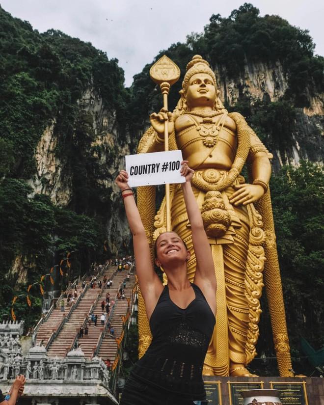 Cô gái trẻ nhất du lịch vòng quanh Trái Đất: Mới 21 tuổi đã đi qua 196 quốc gia, sắp phá vỡ kỷ lục Guinness - Ảnh 6.