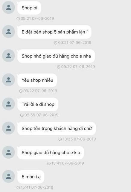 Khách mua hàng online háo hức và lo lắng nhất năm: 5 phút nhắn hơn chục cái tin, vừa thấy chủ shop không seen là giật đùng đùng lên - Ảnh 3.