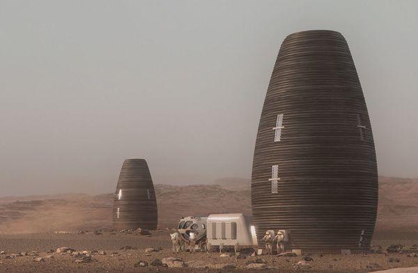 Đây là sẽ là nhà của chúng ta khi đặt chân lên sao Hoả - Ảnh 1.