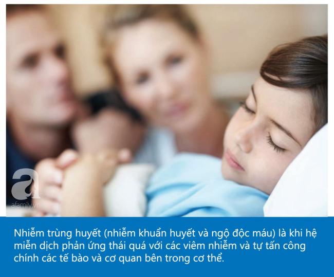 Một người mẹ chia sẻ hình ảnh của con trai và nhấn mạnh: Nếu thấy dấu hiệu này, cần nghĩ đến khả năng con bị nhiễm trùng huyết - Ảnh 2.