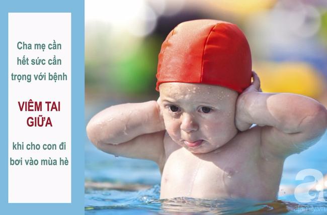 Đây là lý do vì sao trẻ đi bơi thường mắc viêm tai giữa: Cha mẹ cẩn trọng để chặn đứng nguy cơ mắc bệnh cho con - Ảnh 1.