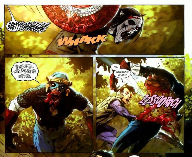 10 chiếc khiên danh bất hư truyền đã đồng hành cùng các phiên bản Captain America trong lịch sử truyện tranh - Ảnh 11.