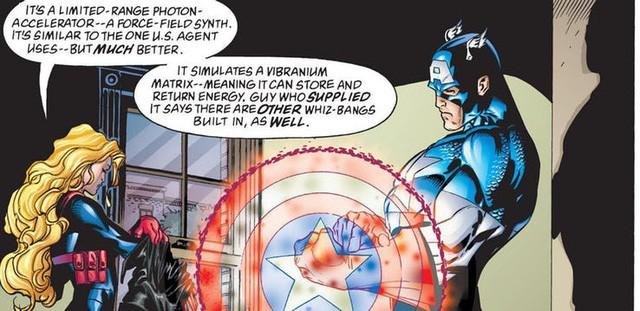 10 chiếc khiên danh bất hư truyền đã đồng hành cùng các phiên bản Captain America trong lịch sử truyện tranh - Ảnh 6.