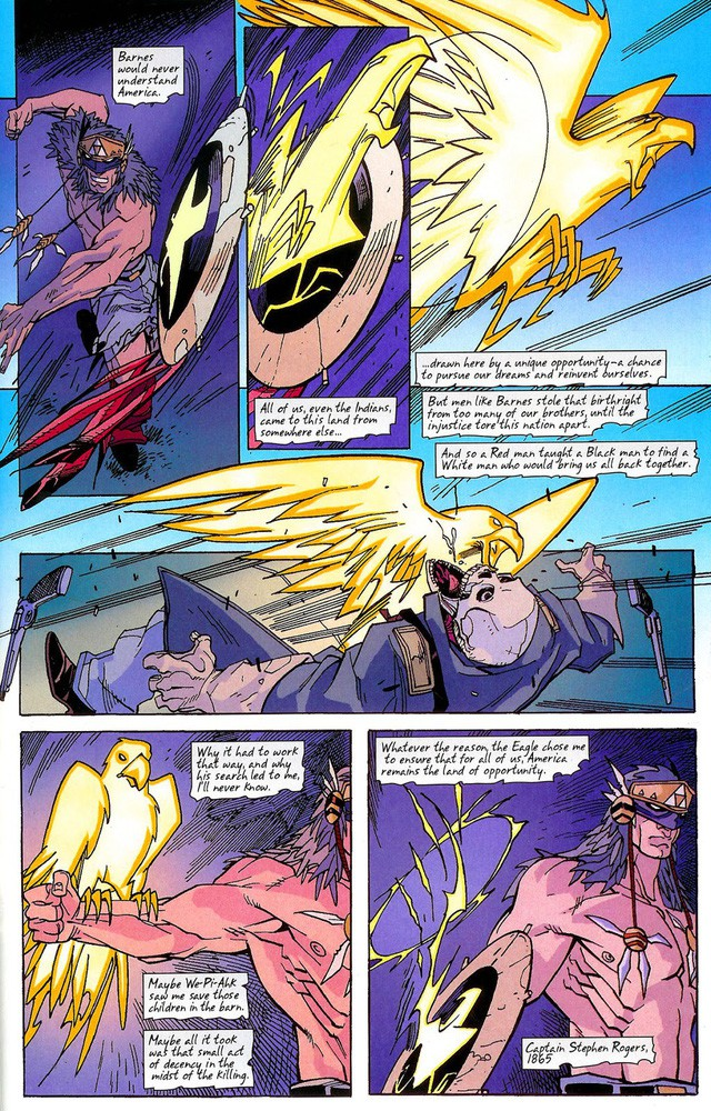 10 chiếc khiên danh bất hư truyền đã đồng hành cùng các phiên bản Captain America trong lịch sử truyện tranh - Ảnh 10.