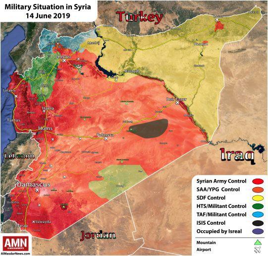 Kho đạn lớn của QĐ Syria nổ tung, thiệt hại nặng nề - Quân Thổ bị tấn công, khẩn cấp nhờ Nga ứng cứu - Ảnh 11.