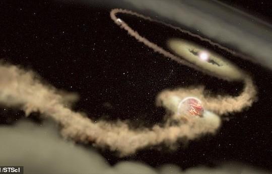 Sự ra đời kỳ lạ của hành tinh mang thế giới thứ hai - Ảnh 1.