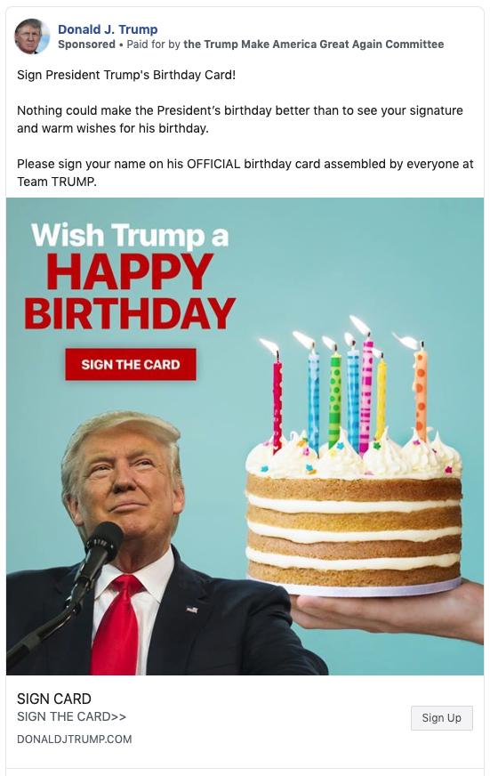 Mừng ngày sinh nhật tuổi 73, ông Trump đốt gần 1 triệu USD để chơi lớn - Ảnh 2.