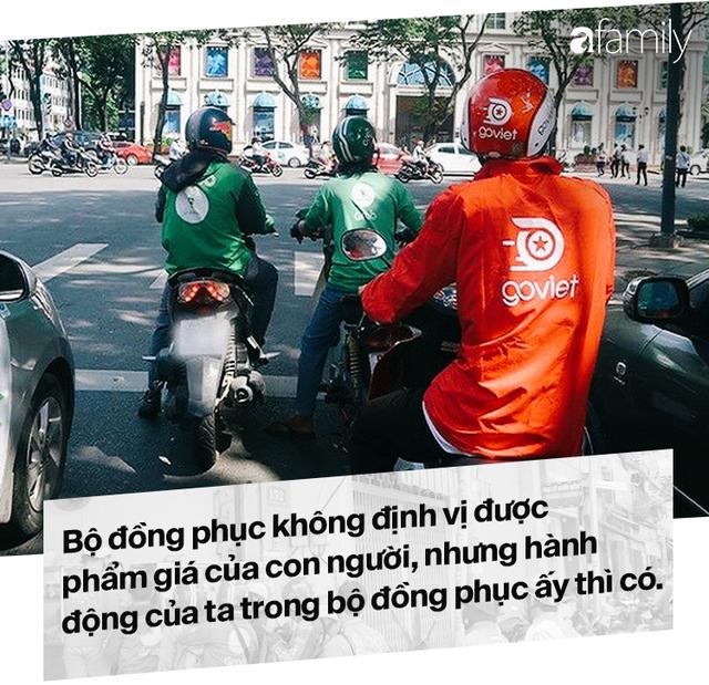 Lời miệt thị CEO Nhật ném vào tài xế công nghệ Việt và những bộ đồng phục định giá con người - Ảnh 11.