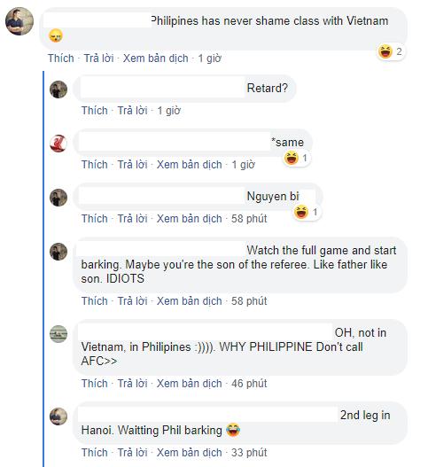 Fan Philippines cay cú, chỉ trích đội bóng Việt Nam đi đêm với trọng tài - Ảnh 2.