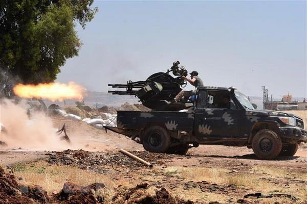 CẬP NHẬT: Sập bẫy Quân đội Syria, phiến quân chết như ngả rạ - Thiệt hại sốc - Ảnh 8.