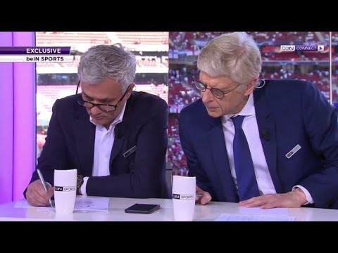 Hình ảnh khó tin nhất Champions League: Mourinho và Wenger mỉm cười biến thù thành bạn - Ảnh 2.
