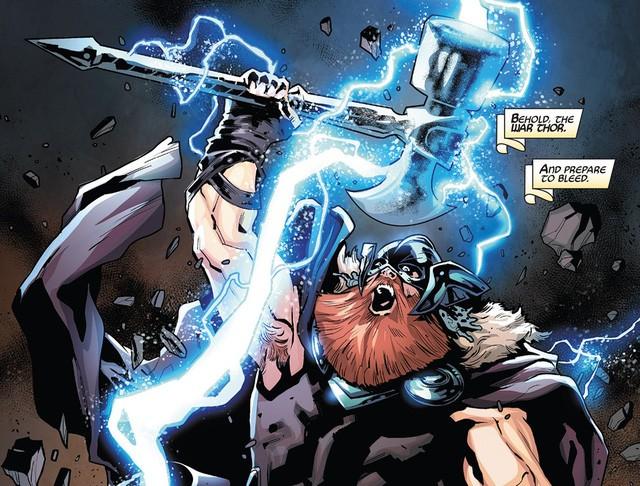 Avengers: Endgame - Chiến rìu Stormbreaker của Thor sẽ có hình dáng thế nào nếu như không dùng tay của Groot? - Ảnh 3.