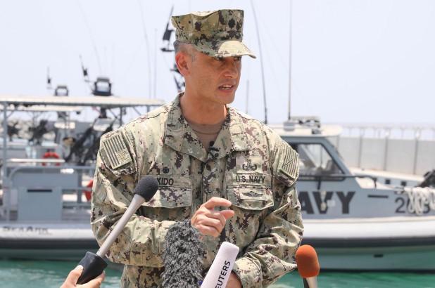 Mỹ lần đầu trưng vật chứng tố Iran đứng sau vụ tấn công tàu chở dầu - Ảnh 1.