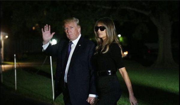 Lý do bà Melania Trump thường đeo kính râm mỗi lần xuất hiện trước công chúng - Ảnh 3.