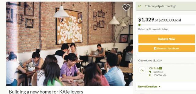 Đào Chi Anh: Tôi hiểu sự nhạy cảm khi gọi vốn cộng đồng cho dự án xây dựng lại The KAfe - Ảnh 2.