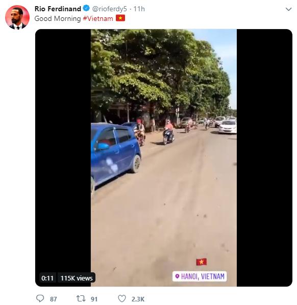 Rio Ferdinand háo hức, gửi thông điệp đặc biệt đến Việt Nam - Ảnh 2.