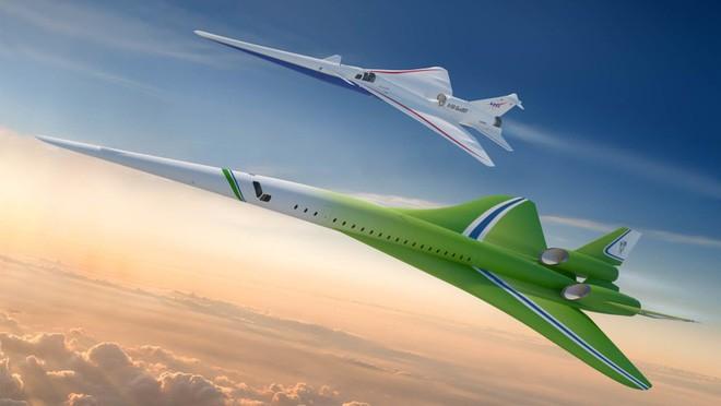 Trong tương lai, bạn có thể được bay xuyên quốc gia bằng loại máy bay siêu thanh mới của Lockheed Martin - Ảnh 1.